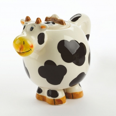 Teapot Happy Cow
