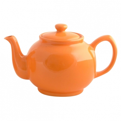 English Teapot, 1'35l - orange
