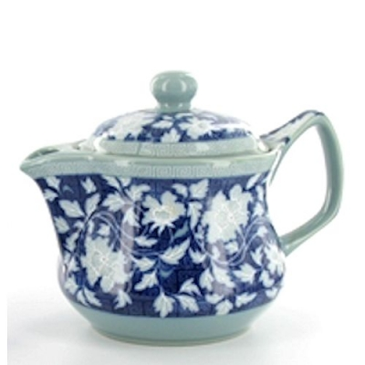 Fine Blue China, théière 450 ml